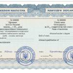dyplom magistra ukraiński