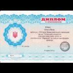 dyplom ukrianki